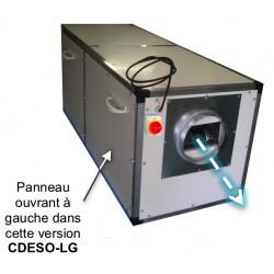 CDESO ION Caisson complet de destruction d'odeurs et fumées à charbon actif et ionisation