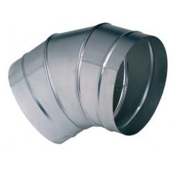 Coude galva à 45° diamètre 250 mm